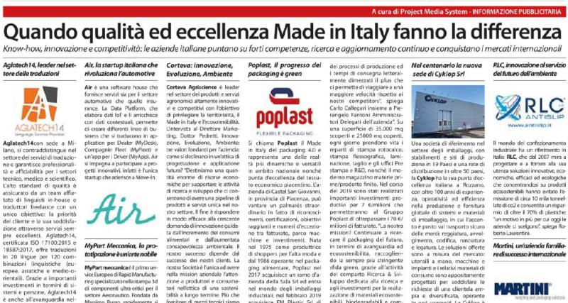 Cyklop Corriere Della Sera